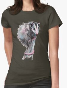 Virginia Opossum Baby Womens Fitted T-Shirt