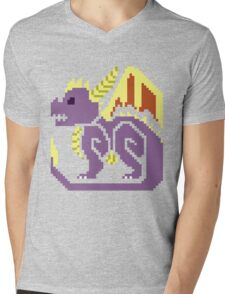 Monster Hunter Spyro Mens V-Neck T-Shirt