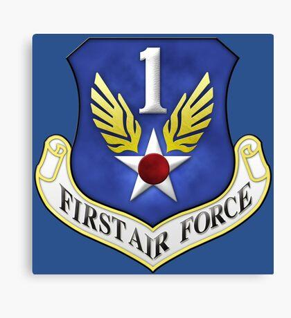 First Air Force Emblem Canvas Print
