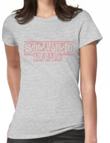 Steamed Hams  Womens Fitted T-Shirt
