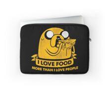 I Love Foods Pizza Jake Laptop Sleeve