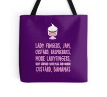 Rachel's traditional English trifle Tote Bag