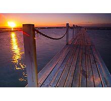 Sunrise - Narrabeen Sydney Australia Photographic Print