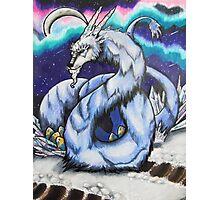 Abominable Dragon Mother Photographic Print