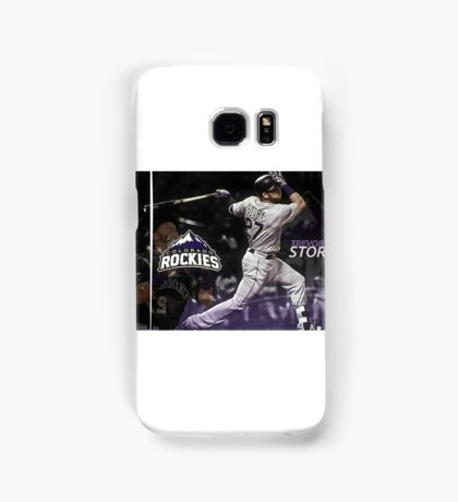 Trevor Story Wallpaper Samsung Galaxy Case/Skin