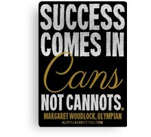 Canned Success T-shirts & Homewares Canvas Print