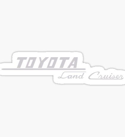Toyota Land Cruiser  logo Sticker