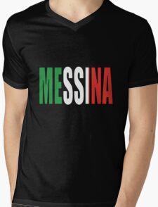 Messina. Mens V-Neck T-Shirt