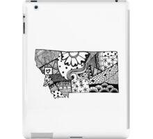 Montana ZenDoodle iPad Case/Skin