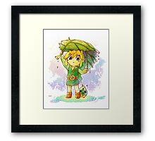 Zelda - Link Framed Print
