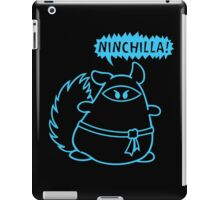 The Ninja Chinchilla - Blue iPad Case/Skin