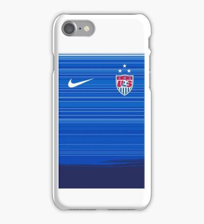 USWNT 2015 Away Jersey iPhone Case/Skin