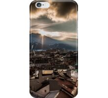 Innsbruck in der Abendsonne iPhone Case/Skin