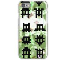 Pixel Invaders - Retro Pixelart Space Ships iPhone Case/Skin