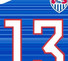 USWNT 2015 Away Jersey Alex Morgan Sticker