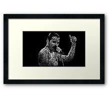 Freddie Mercury Somebody to love Framed Print