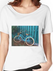 Teal Transport Women's Relaxed Fit T-Shirt