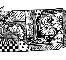 Pennsylvania ZenDoodle by nickolettamay