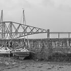 Boats and the Bridge - Scotland` by Paul Campbell  Photography