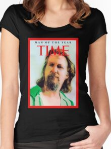 Time's Man of the year - The Big Lebowski Women's Fitted Scoop T-Shirt