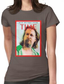 Time's Man of the year - The Big Lebowski Womens Fitted T-Shirt