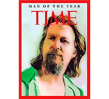 Time's Man of the year - The Big Lebowski Photographic Print