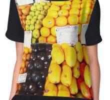 Fresh Fruit from the Market Chiffon Top