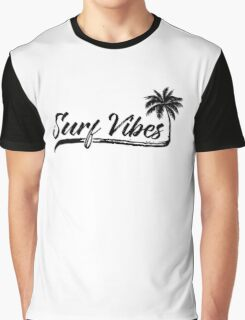 Surf Vibes; by Fauxpia & Chupitos Graphic T-Shirt