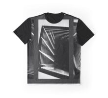 Lines of Light Triptych Graphic T-Shirt