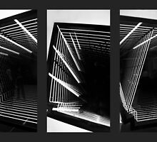 Lines of Light Triptych by Jessica Jenney