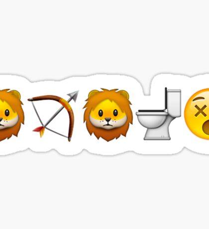 Game of Emojis: Tywin Lannister (emojis only) Sticker