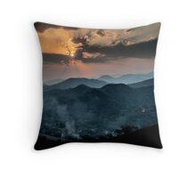 Sonnenuntergang in Venezuela Throw Pillow