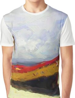 Boat on Beach Graphic T-Shirt
