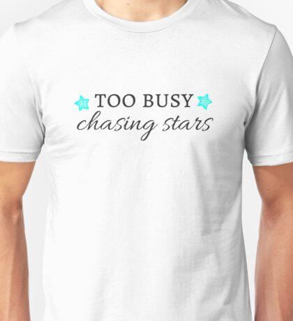 Chasing Stars(Black Font) Unisex T-Shirt