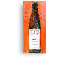 Maine Lunch IPA beer bottle Canvas Print