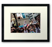 Paz - Frieden Framed Print