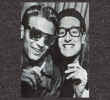 Buddy Holly and Waylon Jennings by spokwhatdo