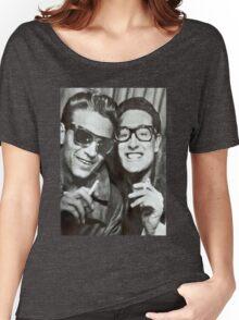 Buddy Holly and Waylon Jennings Women's Relaxed Fit T-Shirt