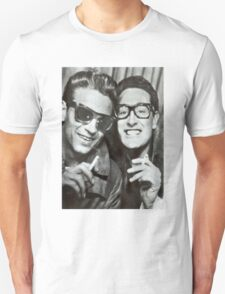Buddy Holly and Waylon Jennings T-Shirt