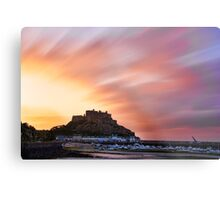 Gorey Castle Sunrise Metal Print
