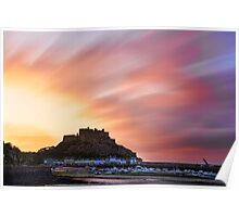 Gorey Castle Sunrise Poster