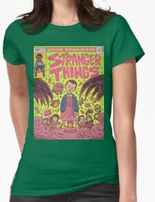 Stranger Things Comic (not original work) Womens Fitted T-Shirt