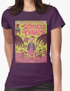 Stranger Things Comic (not original work) Womens Fitted T-Shirt