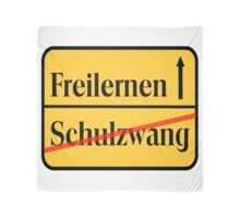 FREILERNEN / Schulzwang BIG  Scarf
