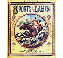 British Sports & Games Photographic Print