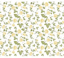 Floral background, seamless pattern Photographic Print