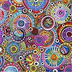 Circle pattern by Sabine Spiesser