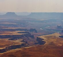 Smoky Green River View by Christopher Carlson