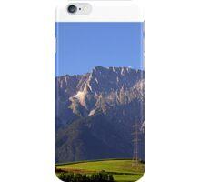 Calm and quiet in Alps iPhone Case/Skin