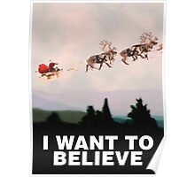 I Want to Believe, X-Files spoof Poster